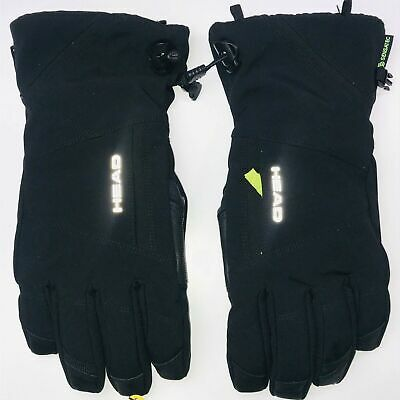 HEAD GLOVES Black/lime  Size EXTRA LARGE