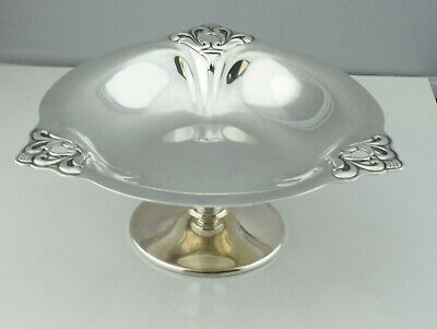International Sterling Silver ROYAL DANISH Compote Tazza Candy Dish T188 Bowl