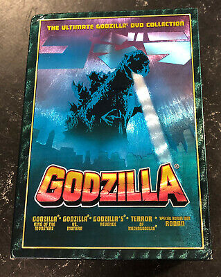 Godzilla - The Ultimate 5-Pack Collection (DVD, 2002, 5-Disc)