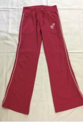 PINK TRACKSUIT BOTTOMS 9-10 Yrs Jogging Sports