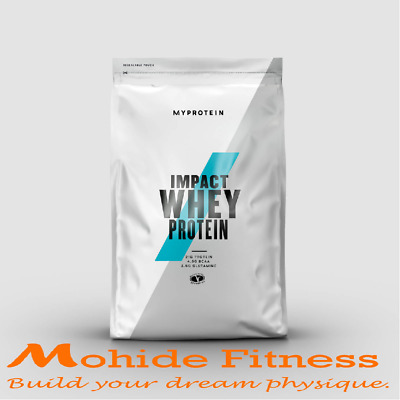 MYPROTEIN IMPACT WHEY PROTEIN *CHEAPEST NEW PACKAGE 1KG, 2.5KG, 5KG Pouch