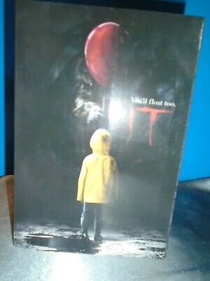 """IT (2017) PENNYWISE 7"""" Scale Ultimate Action Figure Stephen King NECA In Stock"""
