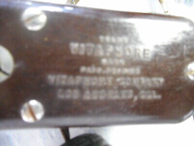 Antique vitaphone quack medical equipment