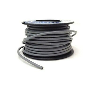 25.5 AWG Stranded Wire Single Conductor EE 3107 NEW Gray Brawa 33 ft 10m