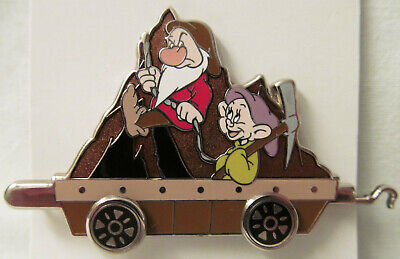 New WDW ® Resort Train Mystery Collection 2012~Grumpy+Dopey Mining Pin # 90847