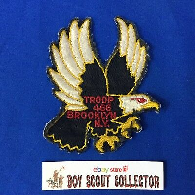 Boy Scout Troop 466 Brooklyn NY Eagle Patch