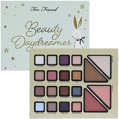 TOO FACED Christmas Dreams BEAUTY DAYDREAMER Eyeshadow Palette NEW FREE FASTSHIP