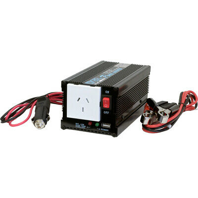 20% OFF** PIN300USB 300W 12V DC - 240V Ac Inverter With USB 500Mah Output Doss