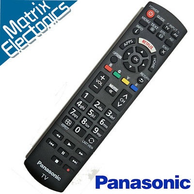 Genuine PANASONIC Remote FOR LCD TV ULTRA HD 4K TX-49FX650B TX-55FX650B NETFLIX