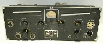 Fairchild Model 219 Vintage Tube Microphone Preamplifier All Stock & Original