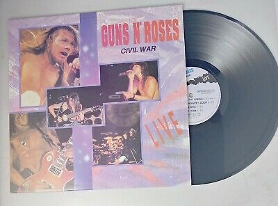 Guns N' Roses Civil War Live Korean Vinyl Lp Record