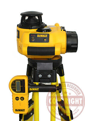 Dewalt Dw076 Self-Leveling Rotary Laser Level, Topcon, Spectra