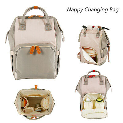 Baby Diaper Nappy Changing Mummy Bag Large Hospital Maternity Backpack NEW