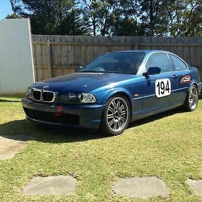 BMW E46 325ci Coupe 2000 Year, 2.5 litre Turbocharged, 5 speed manual - RACE CAR