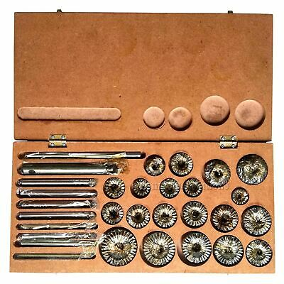 Valve Seat & Face Cutter Set - 20 Pcs Set In Wooden Box