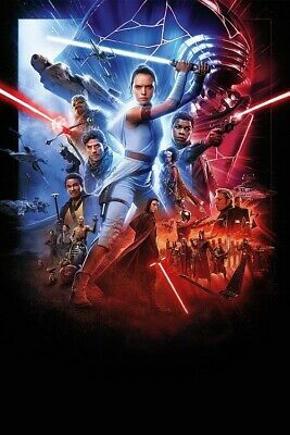 "Star Wars The Rise Of Skywalker Poster Troops Art Print Size 11x17"" 14x21"" 18x24"