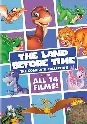 The Land Before Time The Complete Collection Volume 1, 2 & 3 DVD Set R1 14 Films