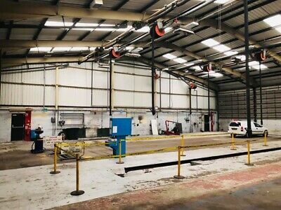 Industrial Unit Workshop Warehouse With Storage Yard To Let Commercial Property