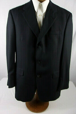 Excellent 40R Austin Reed Suit Coat / Sport Coat Dark Gray Sp107