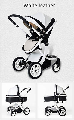Baby Stroller 2 In 1 Folding Carriage Comfortable Kid Infant Car Trolley