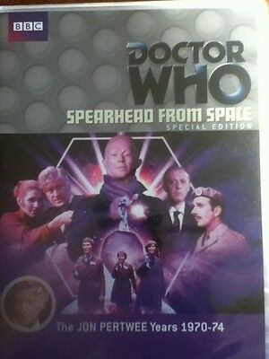 New DOCTOR WHO SPEARHEAD FROM SPACE Dvd SE The Auton Invasion Jon Pertwee debut