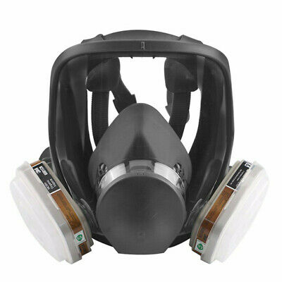 Full Face Vapour Gas Dust Mask Respirator For 3M - 6800 Spray Paint