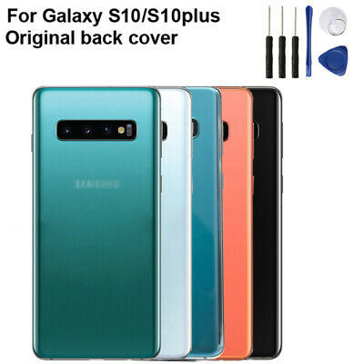Back Battery Cover For Samsung Galaxy S10 X G9730 S10+ G9750 Housing Glass Case