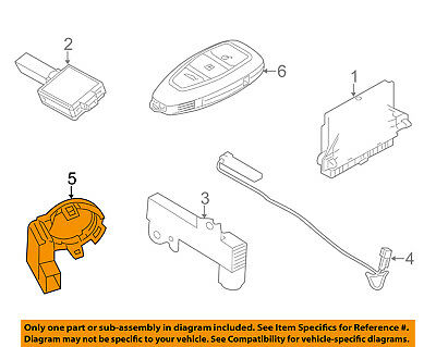 FORD OEM 11-18 Fiesta Anti-Theft-Ignition Immobilizer Module