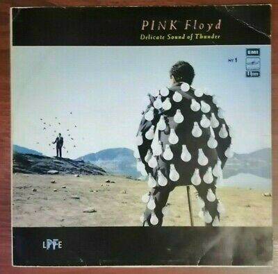 Pink Floyd ‎– Delicate Sound Of Thunder. № 1 / USSR / LP