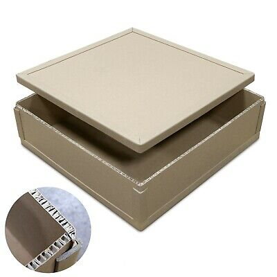 Cardboard Shipping Storage Boxes Postal Mailing Packet Big Strong Parcel Box Lid