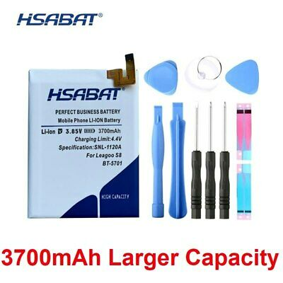 HSABAT 0 Cycle 3700mAh BT-5701 Battery for Leagoo S8 High Quality Mobile Phone R