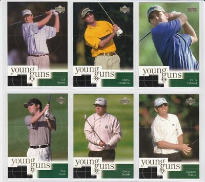 (6) 2001 Upper Deck YOUNG GUNS Complete Your Set # 1