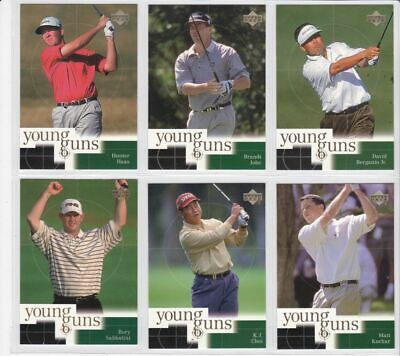 (6) 2001 Upper Deck YOUNG GUNS Complete Your Set # 3
