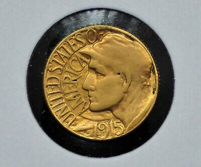 1915-S Panama-Pacific $1 Gold Commemorative Coin [089DUD]