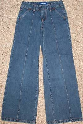 Limited Too Wide Flare Leg Blue Denim Girls Jeans size 10 Slim @ cLOSeT
