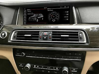 """For BMW 7 Series F01 F02 2009-2015 Android 9.0  Wifi 10.25"""" GPS Navigation"""