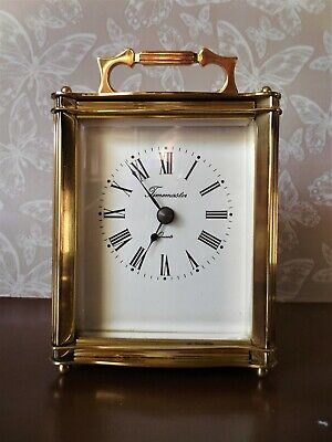 Brass Carriage Clock by Timemaster