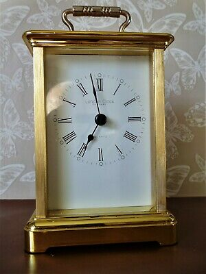 A lovely Quartz Carriage Clock made by The London Clock Company