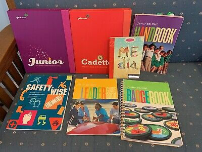 Lot Girl Scout books