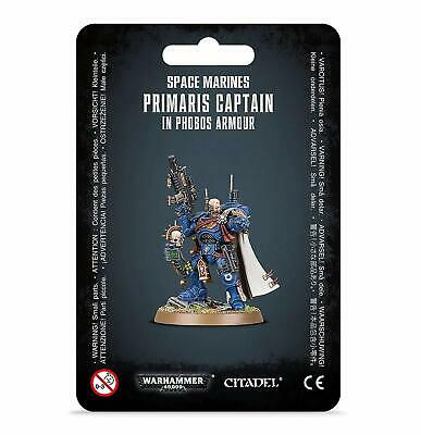 Games Workshop Warhammer 40K Space Marine Primaris Captain in Phobos Armor 48-68