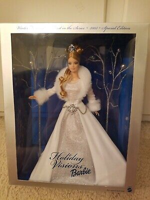 2003 Holiday Barbie Doll Visions Winter Fantasy 1st Series Special Edition B2519