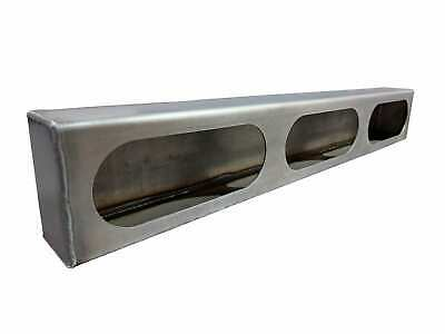 Steel Triple Oval Light Box for Truck Body, Snowplow, Trailer, Step Van 1083