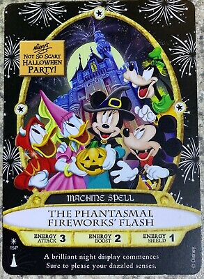 Mickey's Not So Scary Halloween Party 2019 Sorcerer's of the Magic Kingdom Card