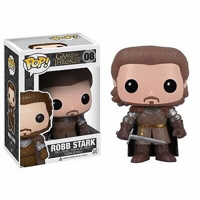 VAULTED Funko pop Rob Stark RARE Game of Thrones NEVER REMOVED FROM BOX