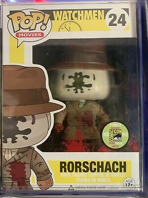 (Funko Mystery Boxes) Main Grail: SDCC Rorschach Or Mr. Incredible 2/60 Boxes