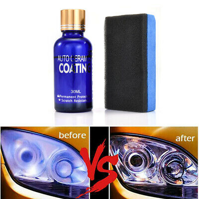Auto 30ml Headlight Polishing Fluid Restoration Kit Car Scratch Repair Coating