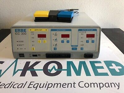 ERBE ICC 300 Electrosurgical Unit with foot switch/TESTED