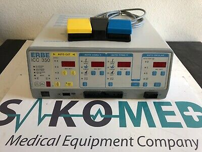 ERBE ICC 350 Electrosurgical Unit with foot switch/TESTED