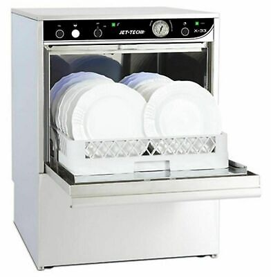 Jet-Tech X-33 Low Temp Undercounter Compact Commercial Dishwasher