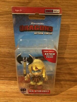 The Loyal Subjects How to Train Your Dragon Astrid Racing Stripe 1/12